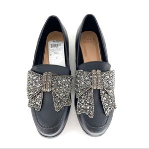 A new day bling ribbon loafers Size 7.5